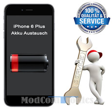 iphone 6 plus akku austausch iphone 6 akku defekt iphone reparatur modcomtronics. Black Bedroom Furniture Sets. Home Design Ideas