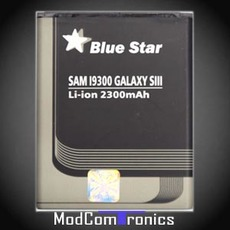 Samsung Galaxy S3 - Blue Star Akku