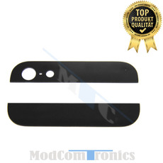 iPhone 5 - Backcover Glas schwarz