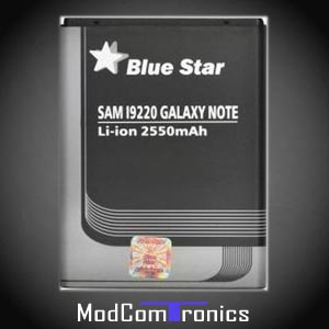 Galaxy Note - Blue Star Akku