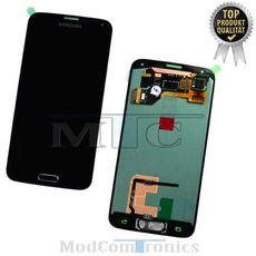 Samsung Galaxy S5 LCD Display schwarz
