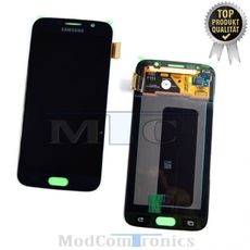 Samsung Galaxy S6 LCD Display schwarz