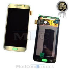Samsung Galaxy S6 LCD gold