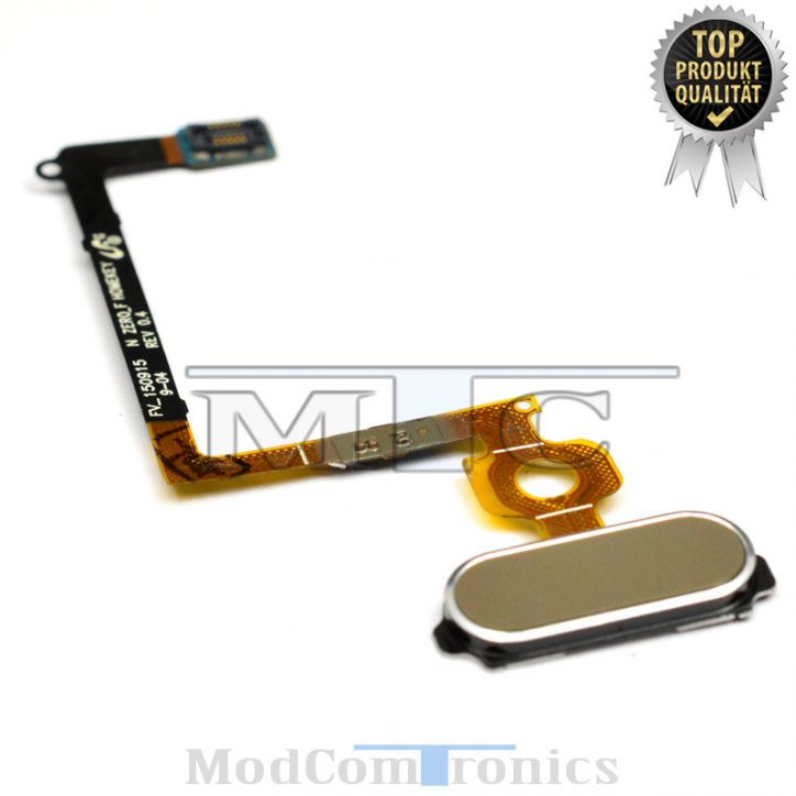 Samsung Galaxy S6 Homebutton Flex gold