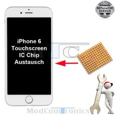 iPhone 6 / 6+ Touchscreen IC Reparatur
