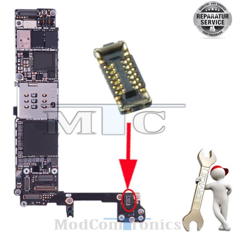 iPhone 6S Powerflex FPC Connector Reparatur
