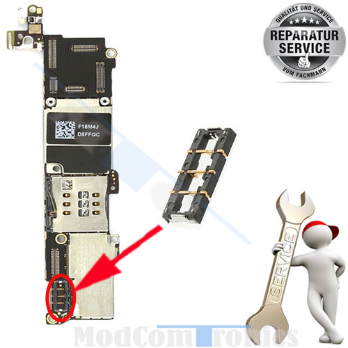 iPhone 5S / 5C Akku FPC Connector Reparatur