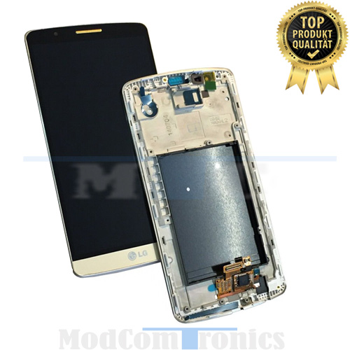 Optimus G3 LCD Display & Touchscreen gold